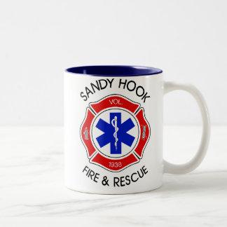 Sandy Hook Fire Two-Tone Coffee Mug