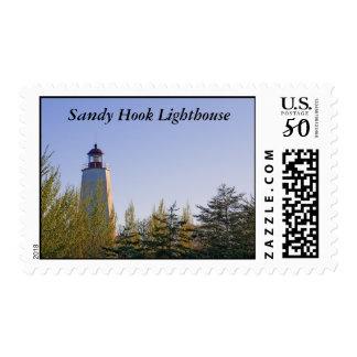 Sandy Hook III Lighthouse Postage