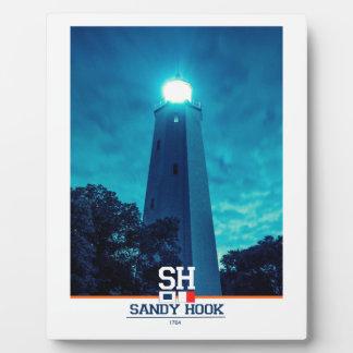 Sandy Hook Light. Photo Plaques