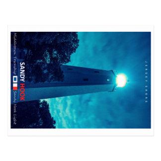 Sandy Hook Light. Postcard