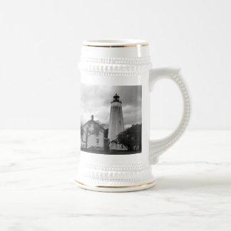 Sandy Hook Lighthouse Beer Stein