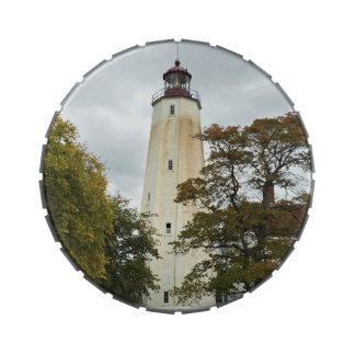 Sandy Hook Lighthouse Candy Tin
