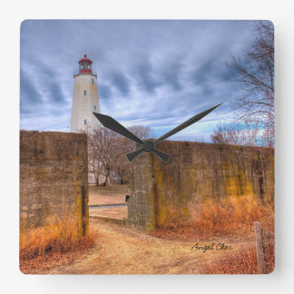 Sandy Hook Lighthouse Clock