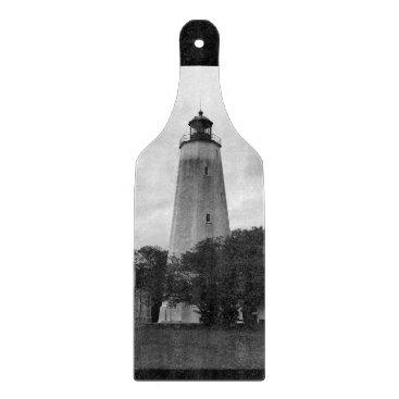 Ocean Themed Sandy Hook Lighthouse Cutting Board