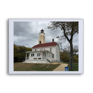 Sandy Hook Lighthouse Envelope