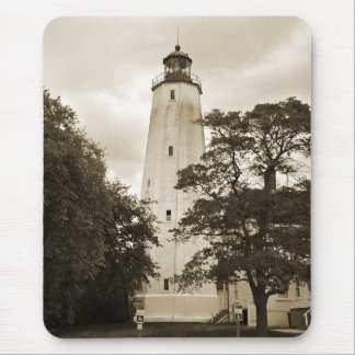Sandy Hook Lighthouse Mouse Pad