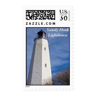 Sandy Hook Lighthouse Postage