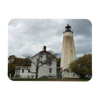 Sandy Hook Lighthouse Rectangular Photo Magnet