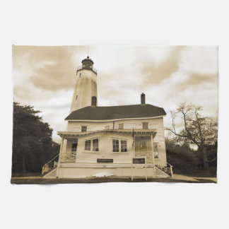 Sandy Hook Lighthouse Towel