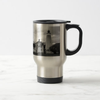 Sandy Hook Lighthouse Travel Mug