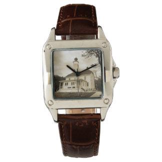 Sandy Hook Lighthouse Wristwatch