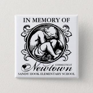 Sandy Hook Newtown Memory Child Button