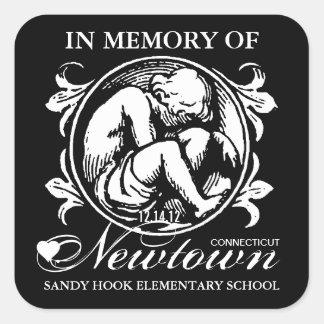 Sandy Hook Newtown Memory Square Sticker
