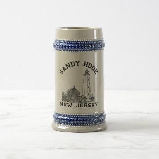 Sandy Hook NJ 18 Oz Beer Stein