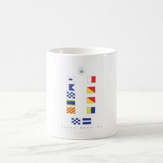 Sandy Hook NJ Classic White Coffee Mug