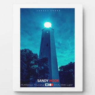 Sandy Hook. Display Plaque