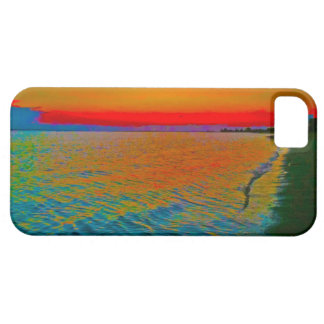 "'Sandy Hook Sunset10"" Iphone case"