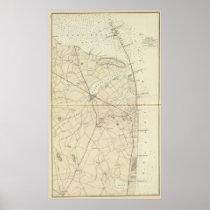 Sandy Hook to Shark River Coast Chart Map