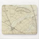 Sandy Hook to Shark River Coast Chart Map Mouse Pad