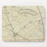 Sandy Hook to Shark River Coast Chart Map Mouse Pad