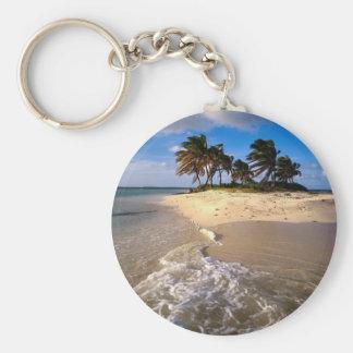 Sandy Island, Anguilla, Caribbean Key Chains