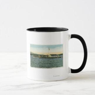 Sandy Island, Boston YMCA Camp Landing View Mug