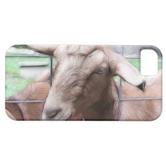 Sandy la cabra en la puerta funda para iPhone 5 barely there