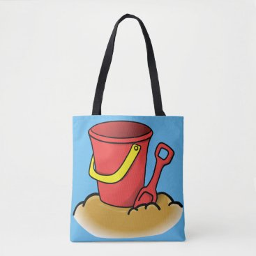Beach Themed Sandy Memories Tote Bag