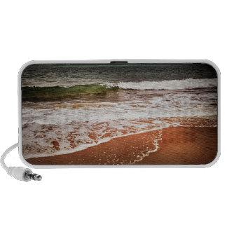 Sandy ocean beach speaker