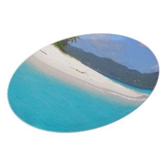 Sandy Paradise 1 Plate