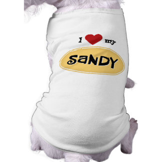 SANDY Personalized Tee