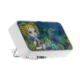 Sandy Rainbow Mermaid Fairy Doodle Speaker