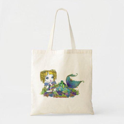 """""""Sandy"""" Rainbow Mermaid Fairy Tote Bag"""
