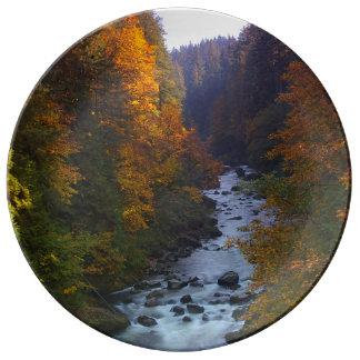 Sandy River, Oregon Dinner Plate