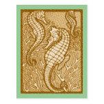 Sandy Seahorses Postcard