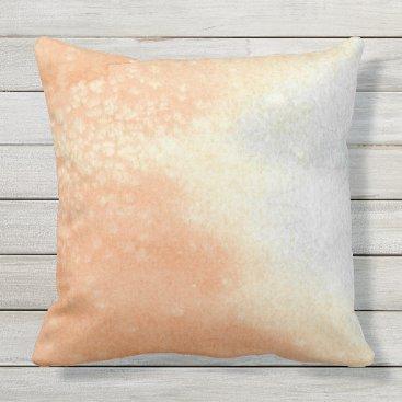 Beach Themed 'Sandy Shore' Outdoor Pillow