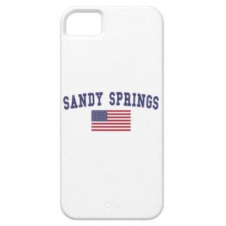 Sandy Springs US Flag iPhone SE/5/5s Case