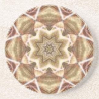 Sandy Star Sandstone Thirsty Coaster