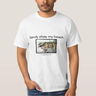 Sandy Stole My Beach - I'm helping get it back Tshirt