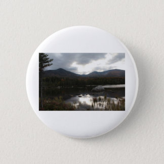 Sandy Stream Pond Baxter State Park Pinback Button