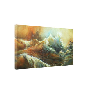 'SANDY' STRETCHED CANVAS PRINT