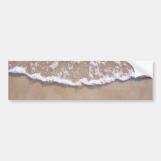 Sandy Surf on the Beach Bumper Sticker