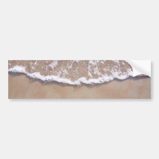 Sandy Surf on the Beach Bumper Sticker