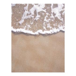 Sandy Surf on the Beach Letterhead