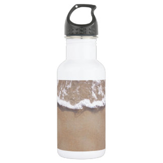 Sandy Surf on the Beach 18oz Water Bottle