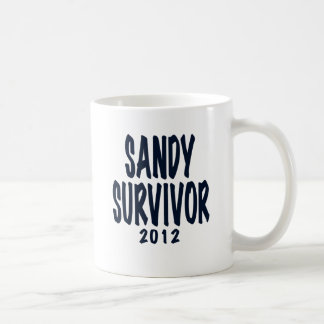 SANDY SURVIVOR 2012, black,Sandy survivor gifts Coffee Mug