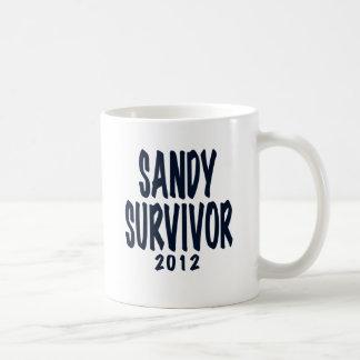 SANDY SURVIVOR 2012, black,Sandy survivor gifts Coffee Mugs