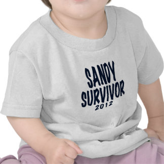 SANDY SURVIVOR 2012, black,Sandy survivor gifts Tees