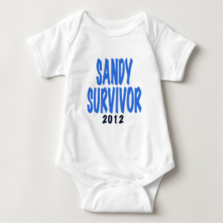SANDY SURVIVOR 2012, lt. blue, Sandy survivor gift Tee Shirt
