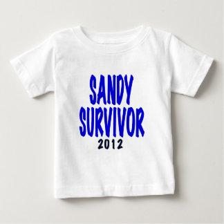 SANDY SURVIVOR 2012, Sandy survivor gifts Baby T-Shirt